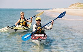 Give an experience, like paddling the beautiful New England coast, with a Gift Certificate from Charles River Canoe & Kayak.