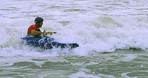 There's nothing like the feeling of surfing a kayak! Playing in Surf will introduce you to this exciting sport.