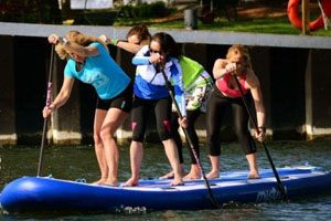 Group Stand-Up Paddleboard