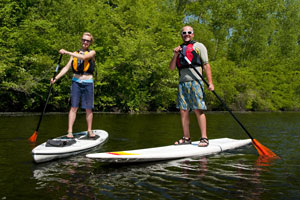 Intro to Stand-Up Paddleboarding in Waltham