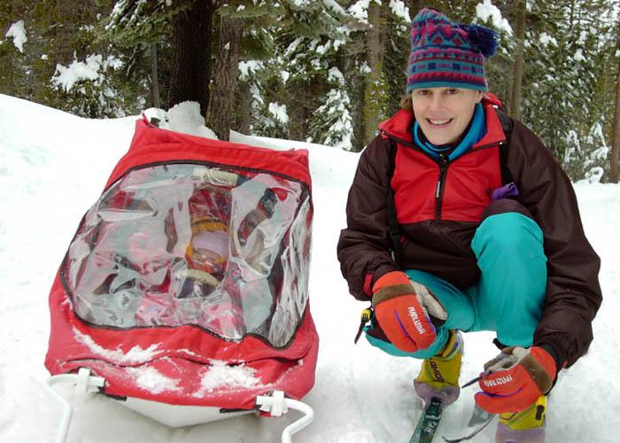 Pulk Child Carrier :: Weston Ski Track