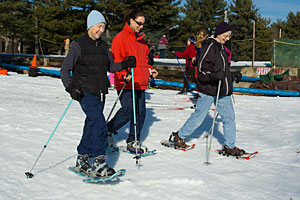 Beginner Adult Snowshoe Lesson